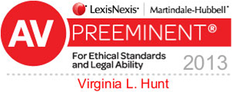 AV preeminent attorney for ethical standards and legal ability