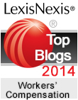2014 Top 25 Legal Blog; Workers Compensation Law